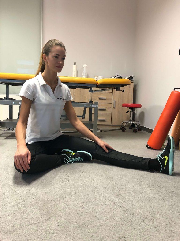 cwiczenie na spiete mięśnie pośladka